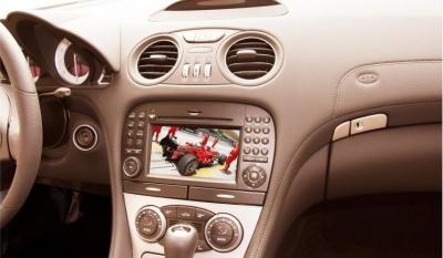 Aktivace obrazu za jízdy