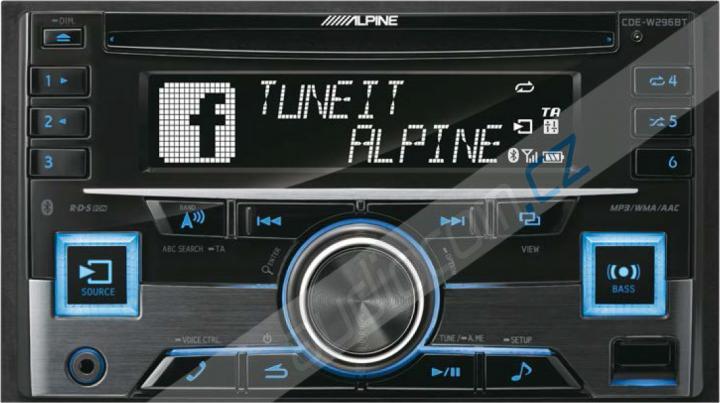 Autorádio ALPINE CDE-W296BT