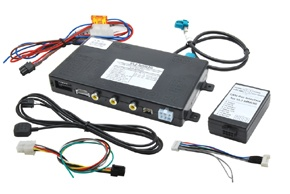 Video adaptér pro AUDI s MMI 3G navigačním systémem / VW Touareg II. s RNS 850