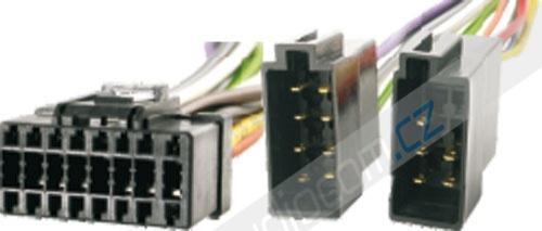 Konektor 16-pin pro autorádia PIONEER