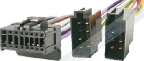 Konektor PIONEER 16-Pin (nejběžnější typ pro modely 2003-2009)