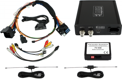 DVB-T tuner dvbLogic DT1-CCC pro vozy BMW s navigací CCC