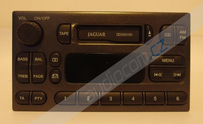 Originální autorádio JAGUAR S-Type - použité zboží