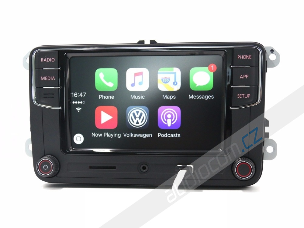 autor dio volkswagen rcd 330 plus apple carplay android auto volkswagen. Black Bedroom Furniture Sets. Home Design Ideas