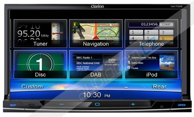 Navigace CLARION NX702E
