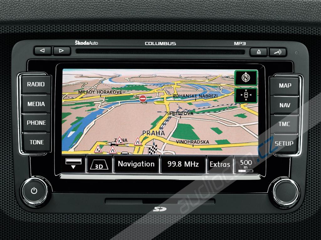 Navigační DVD-ROM Škoda Columbus / VW RNS 510 Východní Evropa 2016 V13