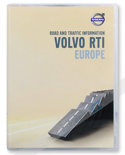 Navigační set DVD VOLVO RTI (MMM / P2001 navigace) - Evropa 2015/2016 (4 DVD)
