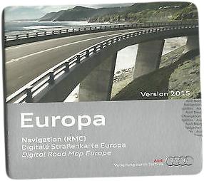 Navigační SD karta AUDI RMC - Evropa 2017 - Audi - Audiocom cz