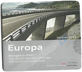 Navigační SD karta AUDI RMC - Evropa 2015