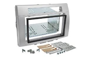 Instalační sada 2DIN rádia TOYOTA Corolla Verso (04-09) - stříbrná