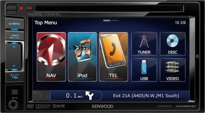 Navigace KENWOOD DNX-5250BT