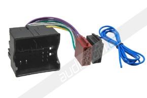 ISO adaptér pro autorádia AUDI / VW / SEAT / ŠKODA (10->)