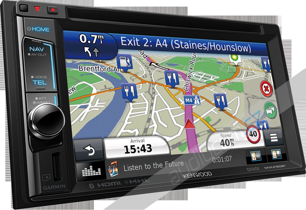 Navigace KENWOOD DNX-4150BT