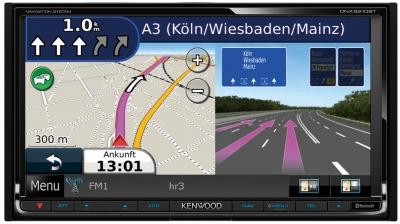 Navigace KENWOOD DNX-9210BT