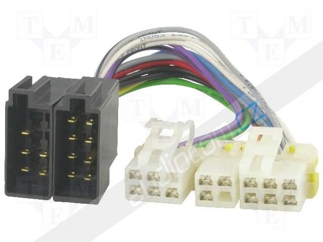 Konektor NISSAN - ISO (83-02)