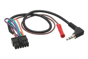 Univerzální propojovací kabel pro autorádia
