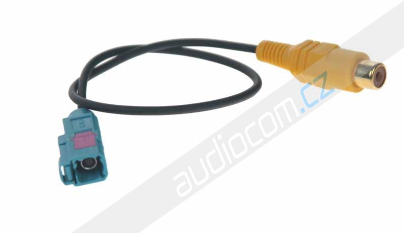 Adaptér RCA s FAKRA konektorem