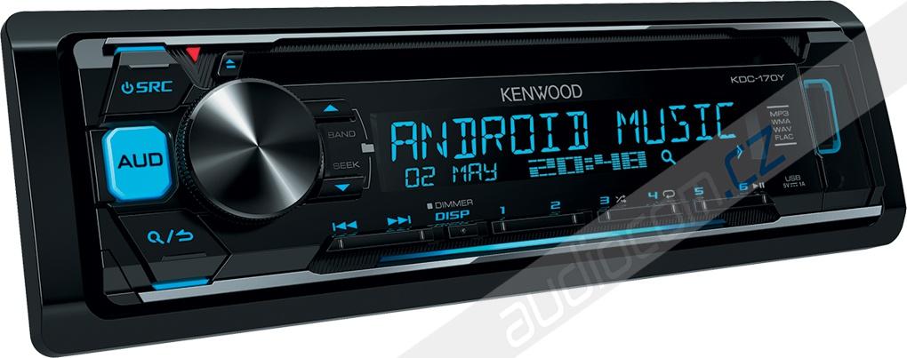 Autorádio KENWOOD KDC-170Y