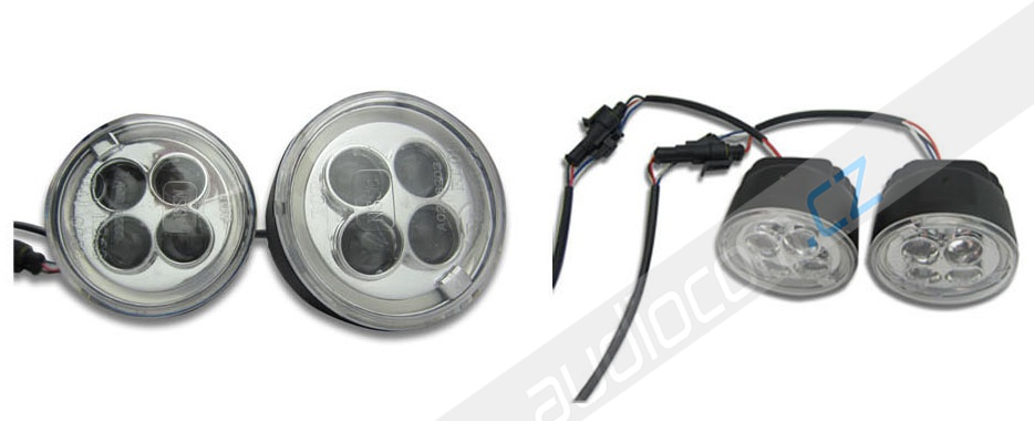 LED denní svícení DRL 510 s funkcí pozičních světel