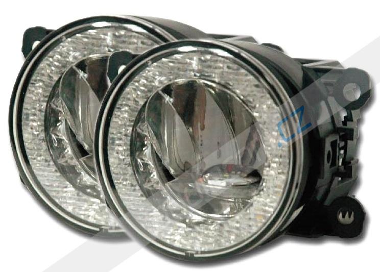 LED denní svícení DRL 090 s funkcí mlhových a pozičních světel