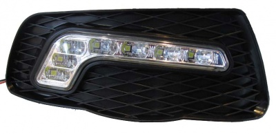 LED denní svícení DRL MERCEDES C W204 (2007-2010)