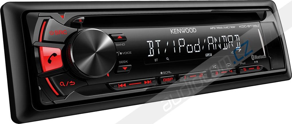 Autorádio KENWOOD KDC-BT35U