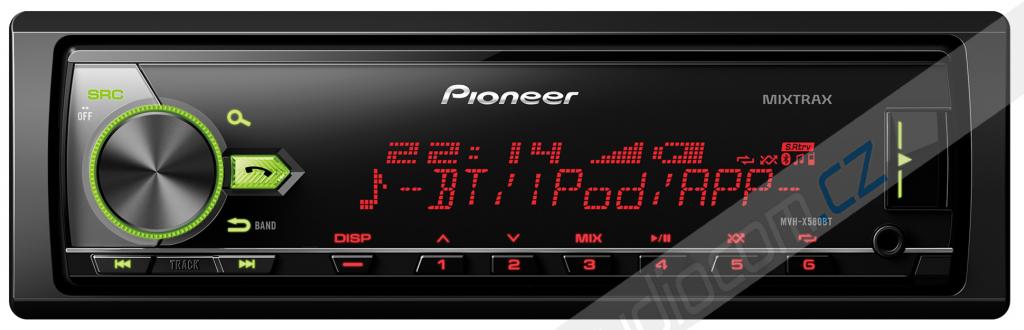 Autorádio PIONEER MVH-X580BT