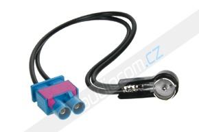 Anténní adaptér FAKRA dvojitý samec - ISO