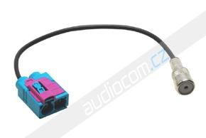 Anténní adaptér FAKRA dvojitá samice - ISO samice
