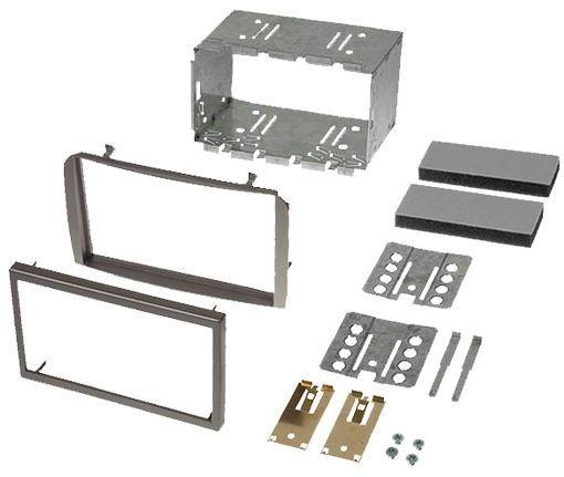 Instalační sada 2DIN rádia ALFA ROMEO 147, GT - stříbrná
