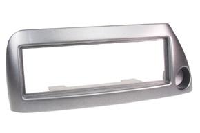 Rámeček autorádia FORD KA - stříbrná metalíza
