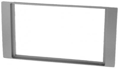Rámeček autorádia 2DIN FORD - stříbrný