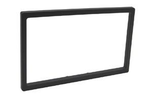 Plastový rámeček 2DIN autorádia KENWOOD - s vyklápěcím panelem