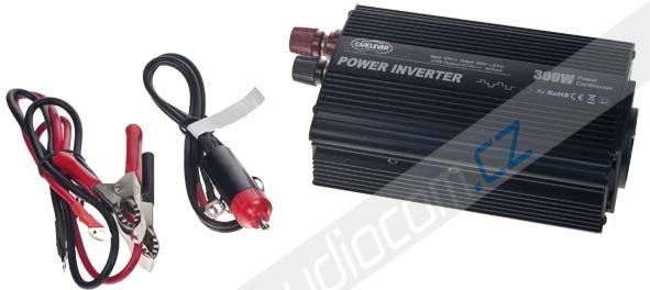 Měnič napětí z 12/230V + USB 300W