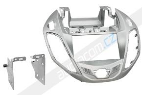 Rámeček 2DIN autorádia FORD B-max (2012->) - stříbrný