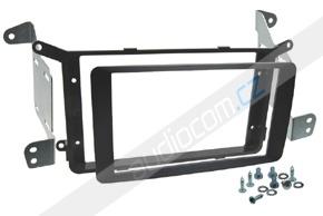 Rámeček autorádia MITSUBISHI ASX / PEUGEOT 4008 / CITROEN Aircross - černá matná