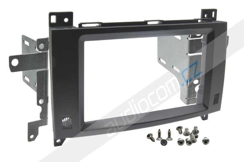Instalační sada 2DIN rádia MERCEDES Vito / Viano / Sprinter + VW Crafter