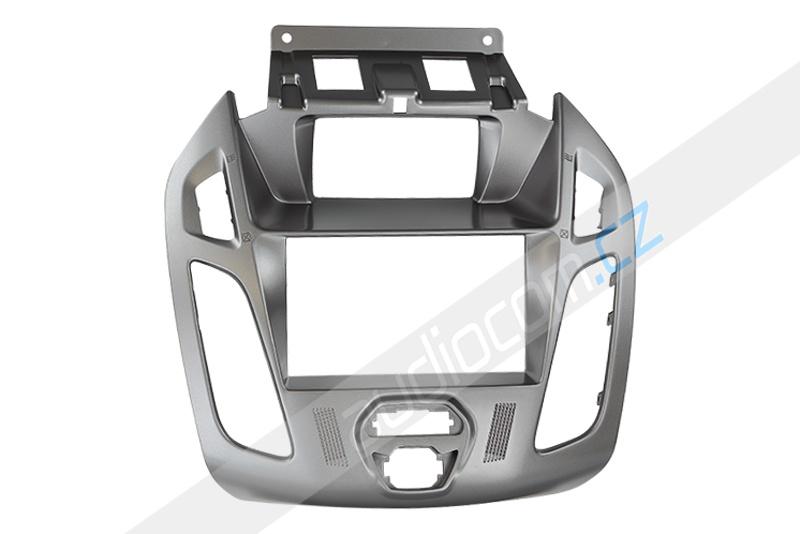 Rámeček autorádia 2DIN FORD Transit Connect / Tourneo Connect - stříbrná matná