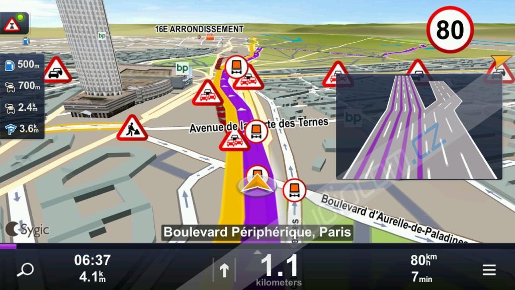 NAVTEQ navigační software TRUCK EVROPA - LIFETIME pro Android (SD karta)