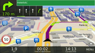 Doživotní aktualizace map NAVTEQ (Windows CE) - mapy CZ a SK