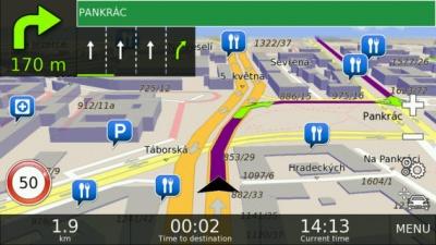 Doživotní aktualizace map NAVTEQ Evropa verze BUS (Windows CE)
