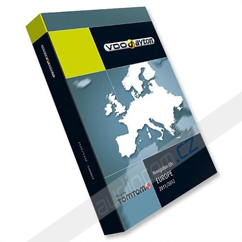 VDO-Dayton non C-IQ Exit (Philips CARIN / CARMINAT) Evropa 2012/2013 (10x CD)