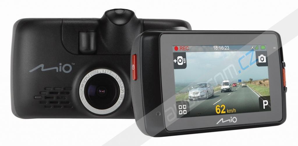 Černá skříňka MIO MiVue 658 - Kamera se záznamem obrazu