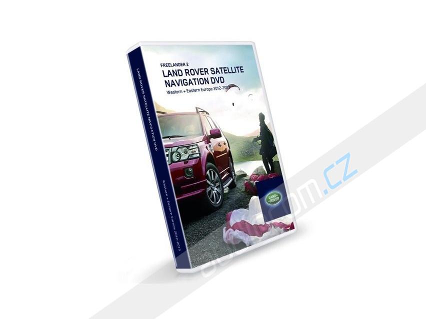 Navigační set DVD LAND ROVER Freelancer II (DENSO MMM2 navigace) - Evropa 2012/2013