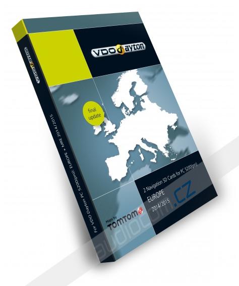 Navigační SD karta VDO-Dayton PC 5200 Evropa 2014/2015