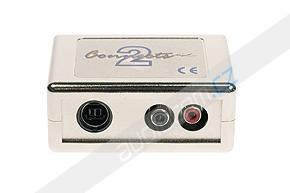 Elektronický AUX vstup pro autorádia BMW s instalovaným kabelem pro CD měnič
