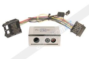 Elektronický AUX vstup pro autorádia BMW se starým 17-pin konektorem