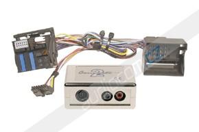 Elektronický AUX vstup pro autorádia BMW s FAKRA konektorem