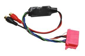 AUX vstup pro autorádia s 10-ti PIN ISO konektorem