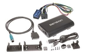 Gateway DENSION 300 iPod/USB/AUX vstup FIAT/ ALFA / LANCIA (BP08DK)